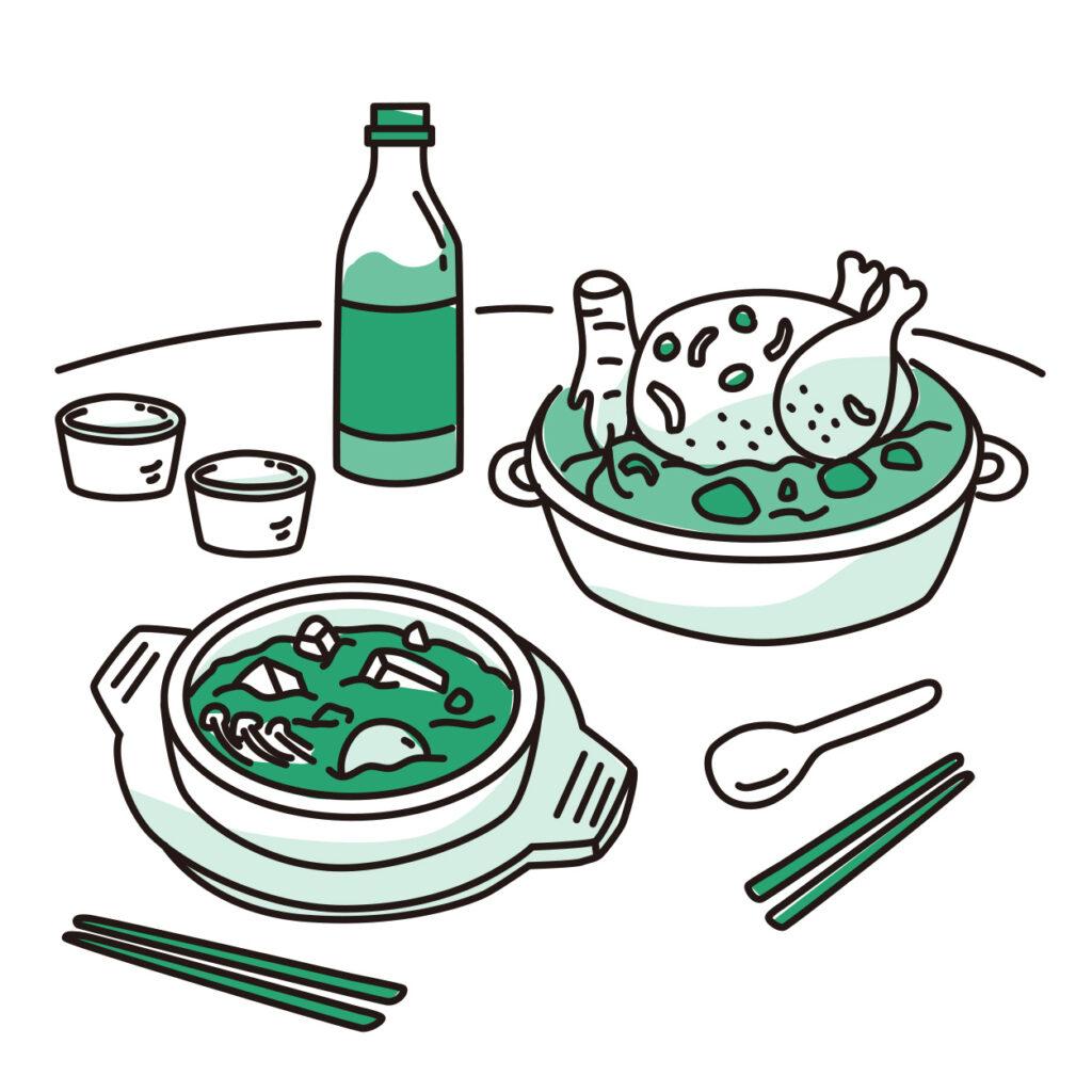 韓國人為什麼特別喜歡吃有湯的食物?