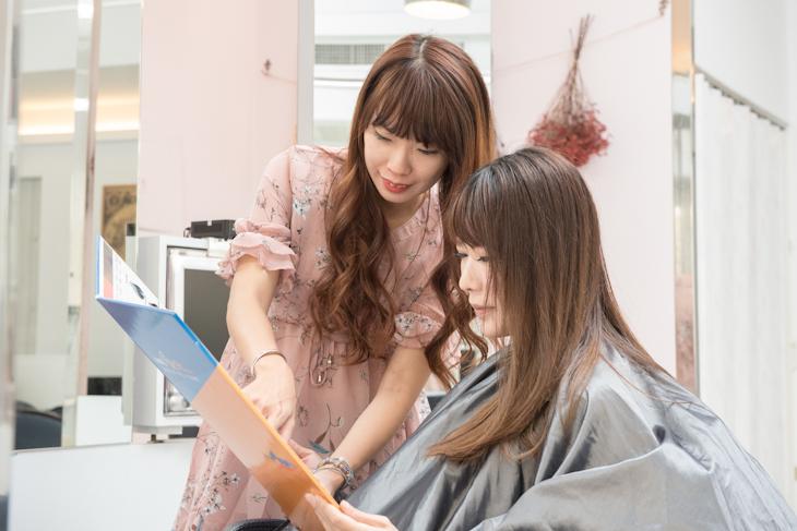台南美髮髮廊推薦E.F hair salon客戶服務
