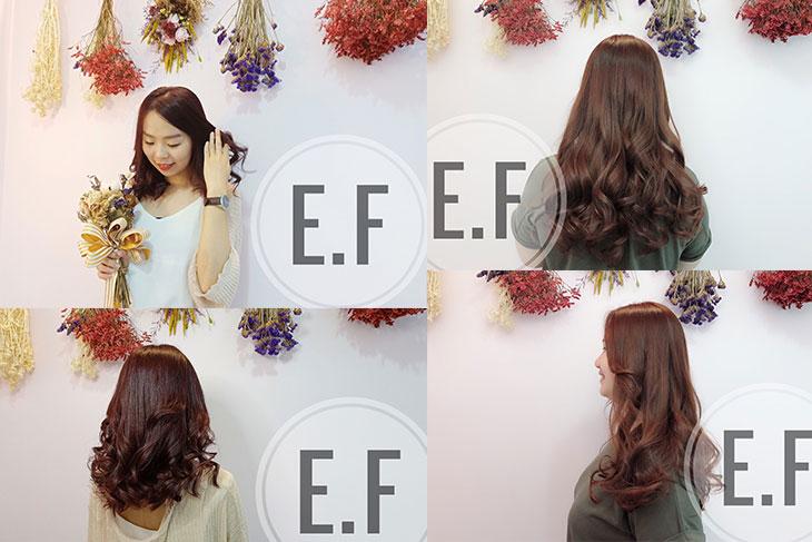 台南髮廊推薦E.F hair salon作品照