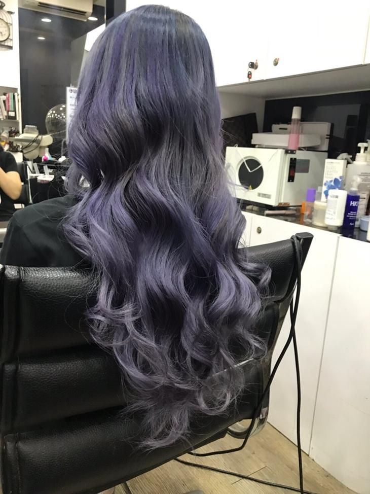 台南美髮髮廊推薦,蜜菈貝兒整體造型苑染髮作品