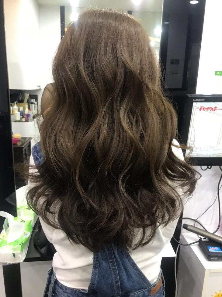 台南美髮髮廊推薦,蜜拉貝兒整體造型苑接髮作品