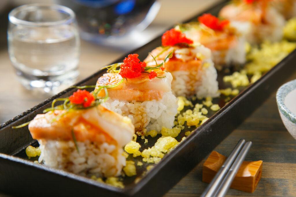 台北特色美食餐廳推薦,小德相 NCIS 美式加州壽司瑪麗蓮夢露