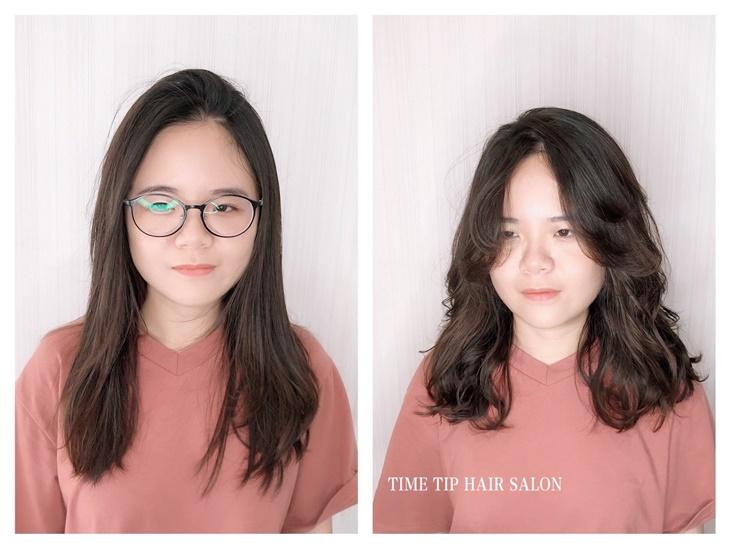台南美髮髮廊推薦時尖髮廊燙髮作品