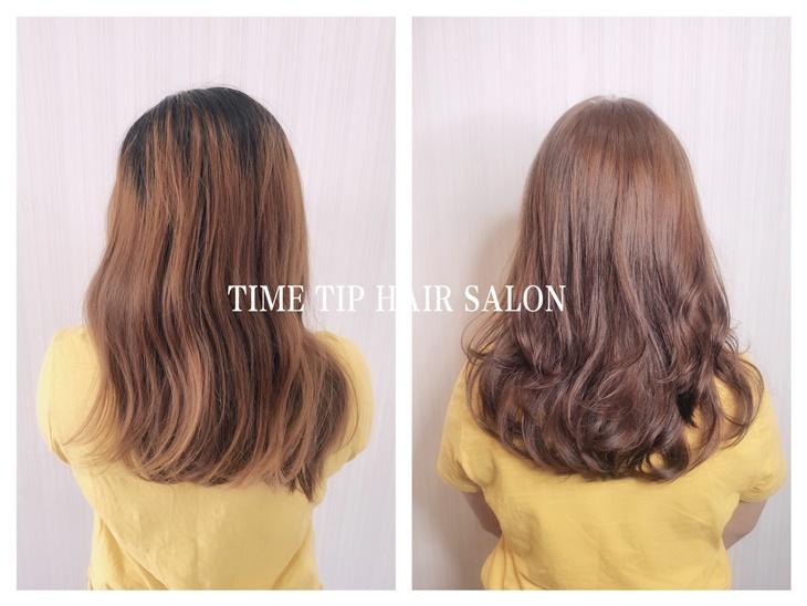 台南美髮髮廊推薦時尖髮廊燙髮染髮作品