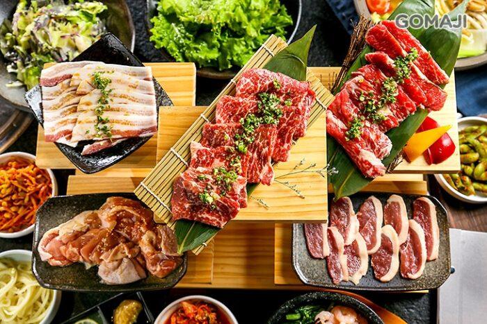 想到這些肉等等要放至盤上翻烤的模樣,就讓人口水直流