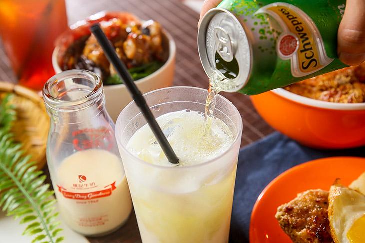 台北港式料理茶餐廳推薦,大茶飯港式餐廳忌廉溝牛奶