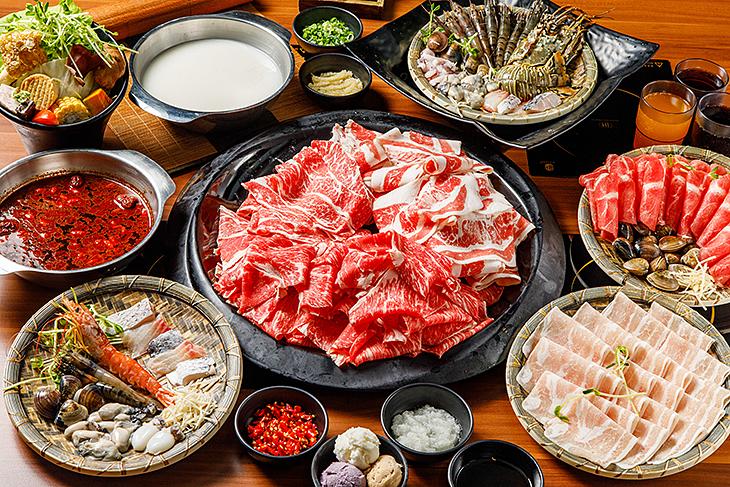 台北學生情侶約會餐廳推薦,極霸鍋物專門店板橋店餐點