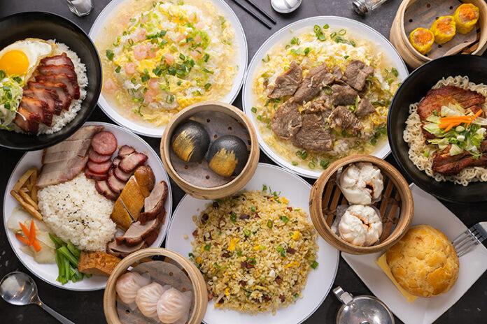 台北港式料理茶餐廳推薦,森余港式燒臘茶餐廳餐點