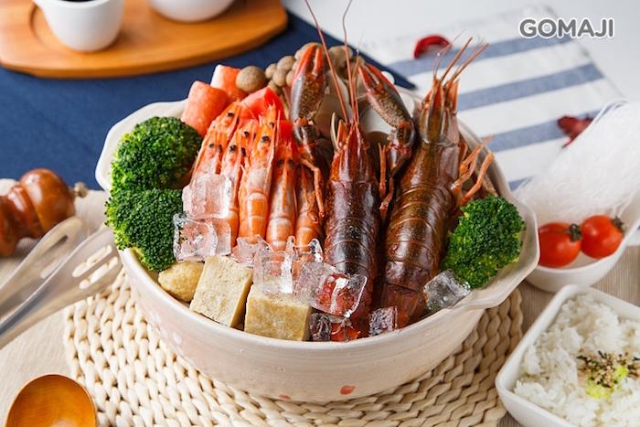 這邊的必點就是這個澳洲龍蝦鍋