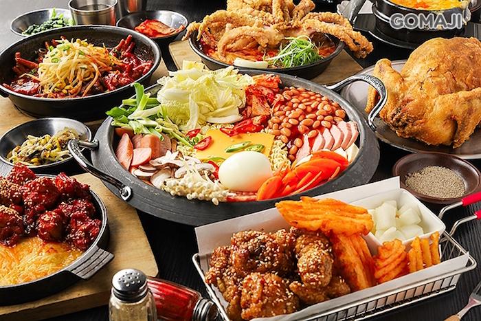 Pocha一詞即為傳統韓國熱炒或路邊攤的樣貌