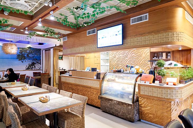 台北學生情侶約會餐廳推薦,美養廚房用餐區