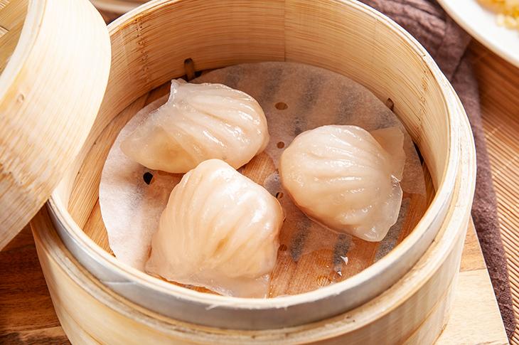 台北港式料理小吃推薦,譽龍軒港式美味小館水晶鮮蝦餃