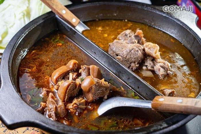 最頂級的薑母下鍋烹煮,並搭配最好的食材