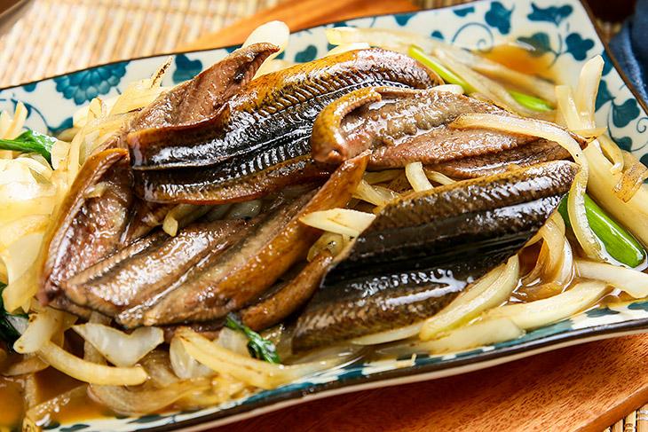 台北東區小吃推薦,台南阿明炒鱔魚乾炒鱔魚