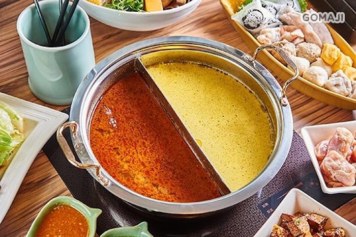 醇香濃郁的湯底一上桌就讓人食指大動