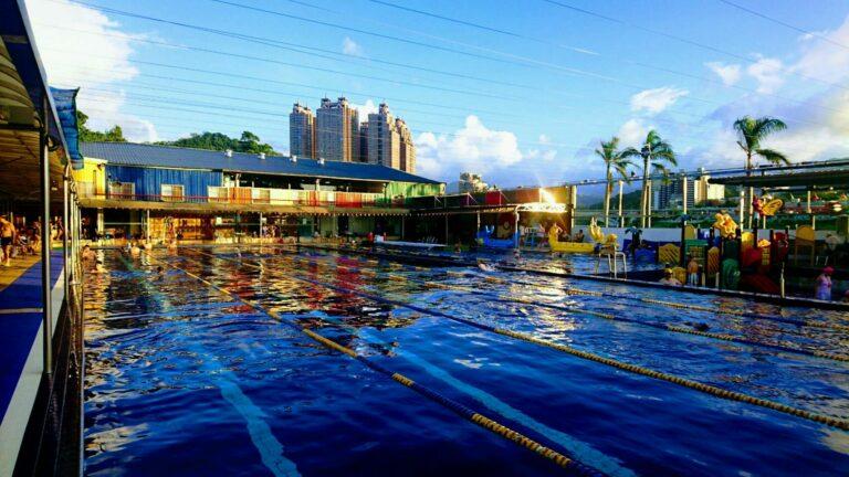 解鎖大新店游泳池,大人放鬆小孩玩瘋的親子樂園