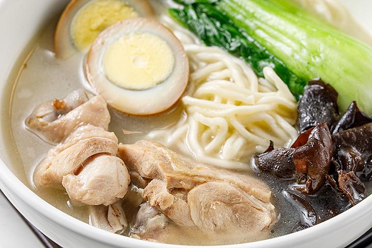 台北東區小吃推薦,志強新村濃厚白湯雞麵