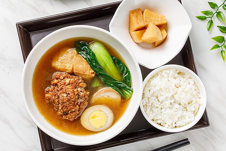 台北東區小吃推薦,志強新村精燉雞湯獅子頭飯