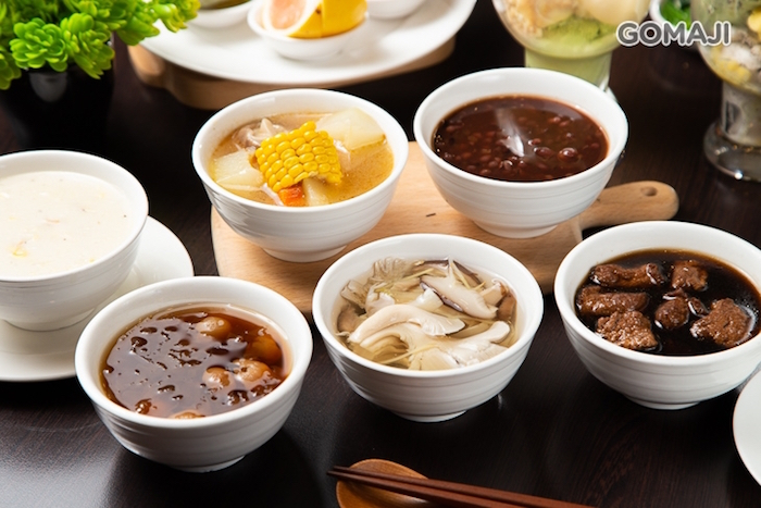 蓮荷創意蔬素食百匯餐廳+湯品、甜湯品