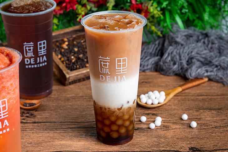 台北車站美食飲料店推薦,蔗里古早炒糖工藝飲料英式漸層珍珠鮮奶茶