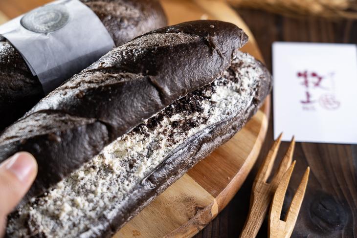 大遠百美食推薦,台中大遠百牧上麵包OREO巧克力黛妃軟法