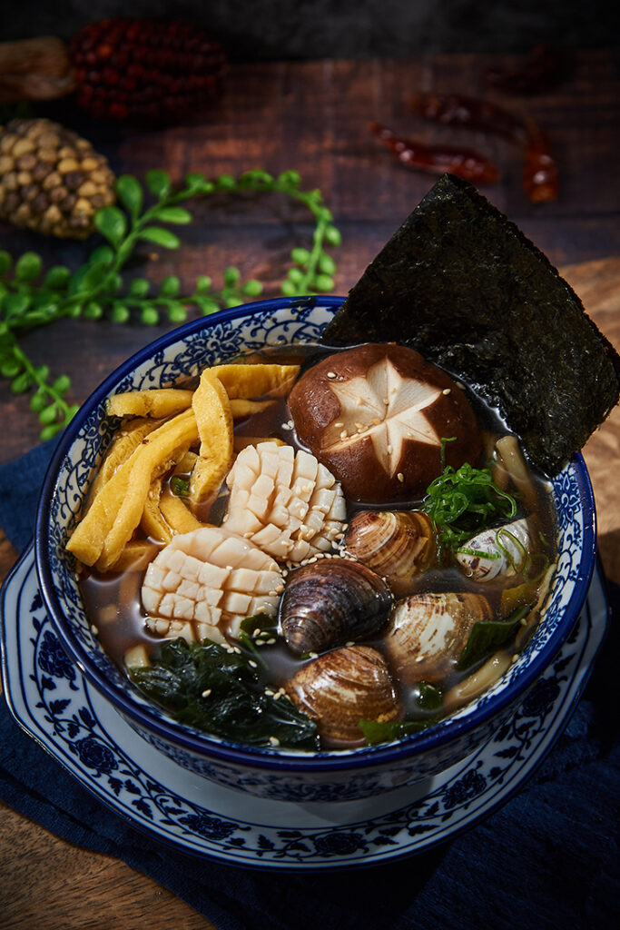 高雄 大遠百美食 推薦,紅瓦屋關東煮干貝蛤蜊烏龍麵