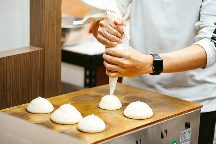 鬆餅 製作