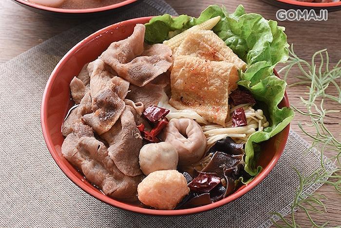 黑貓滷味+麻辣豬肉套餐