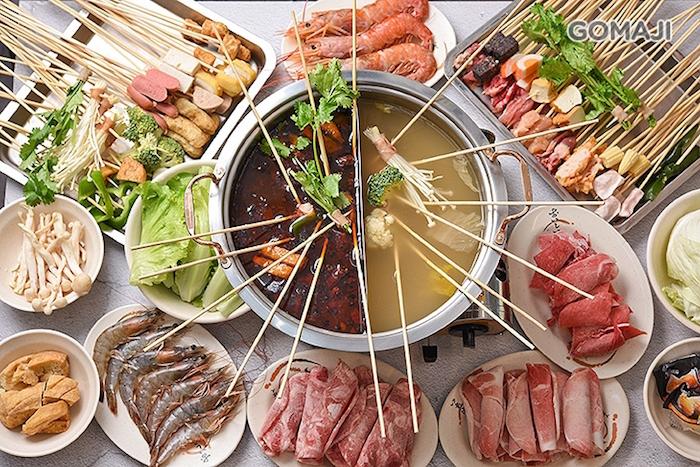 鳳呈祥涮串串+鴛鴦鍋