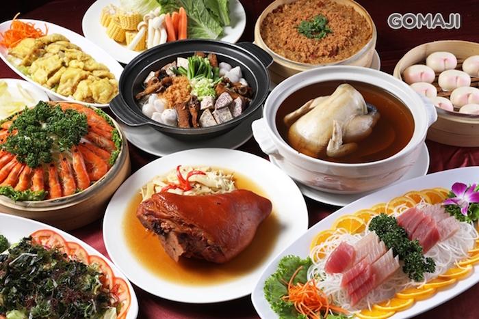 海霸王的10人份懷念料理讓你呼朋引伴一起嚐美食。