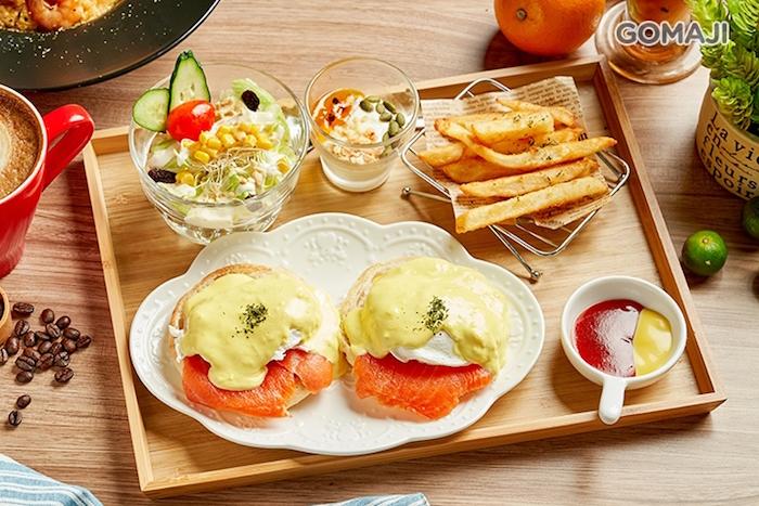 York-約克王子的煙燻鮭魚班尼迪克蛋 是你早午餐的好選擇