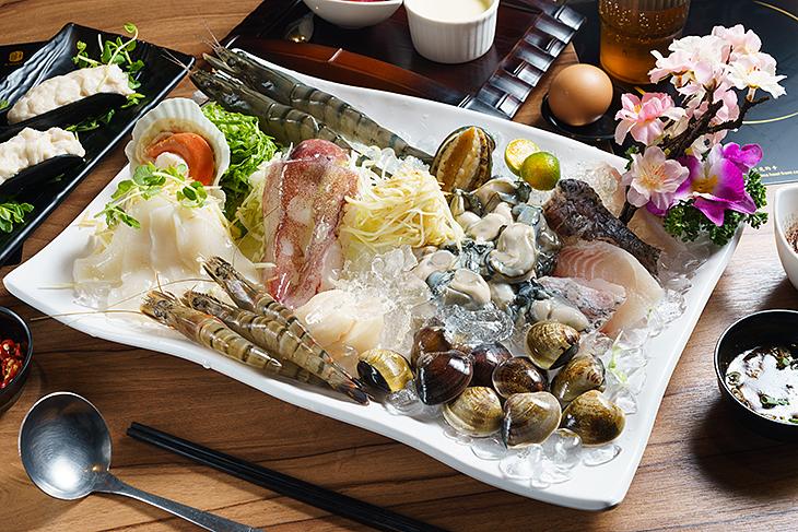 三重美食推薦,峰御尚涮涮鍋物海鮮總匯