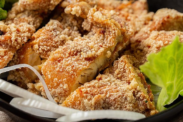 新店早午餐 推薦:穀磨粒早午餐的超厚美味炸雞排