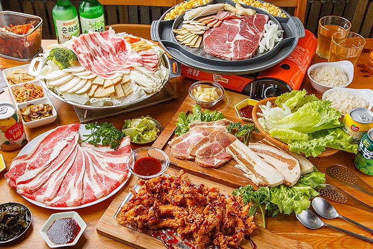 桃園美食 SU KITCHEN提供正宗的韓式烤肉