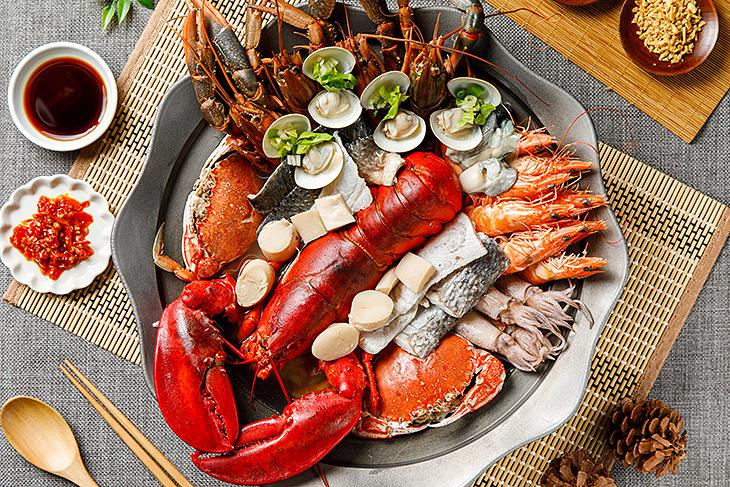 鮮龍北王龍蝦粥提供新鮮海鮮粥