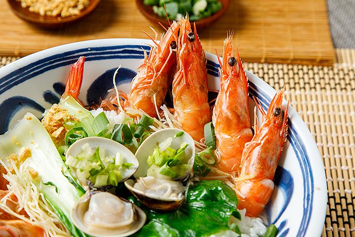 鮮味十足極品鮮蝦粥