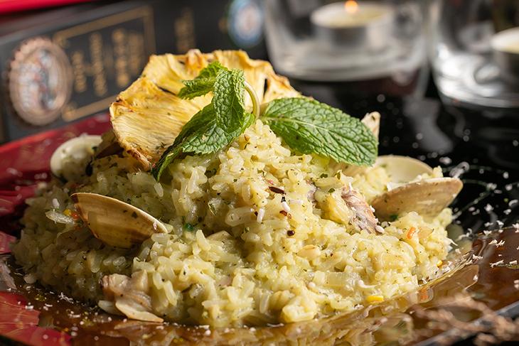 內卡小館 Neckar Bistro提供義式蛤蜊燉飯