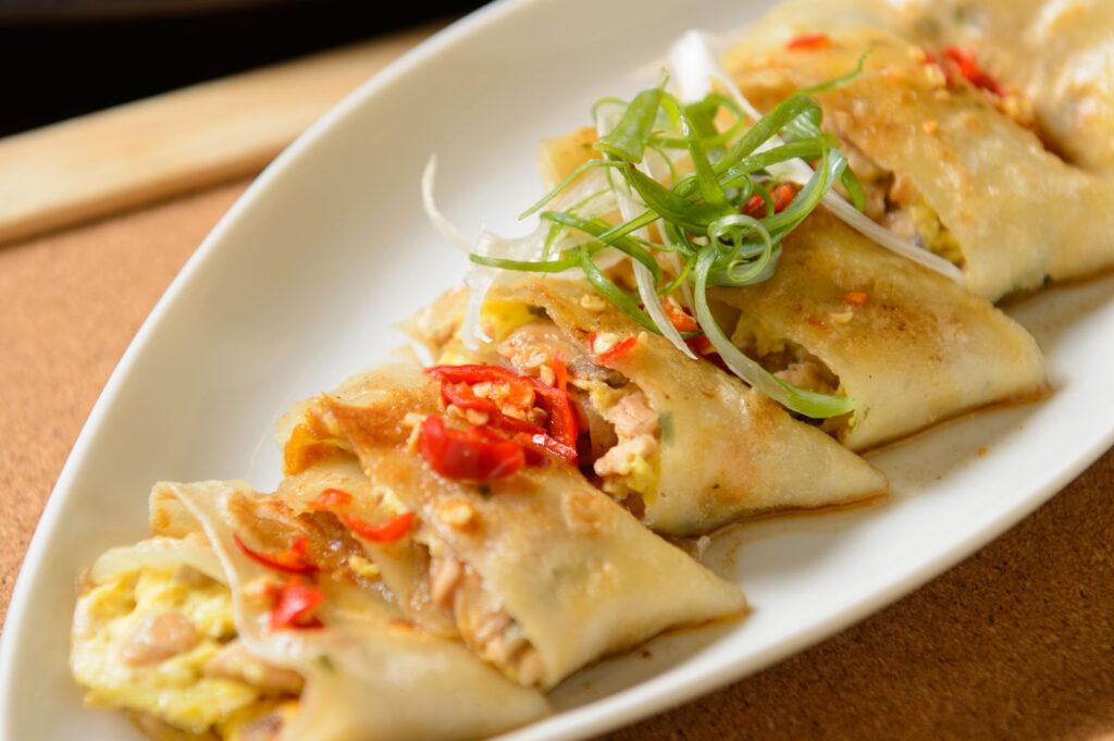 三重美食 推薦,MKF 什麼.魚-虱目魚傳統料理豉椒魚肉蛋餅