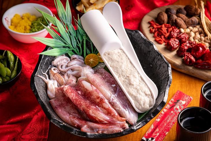 林口火鍋 推薦:老四川巴蜀麻辣燙的海鮮盤