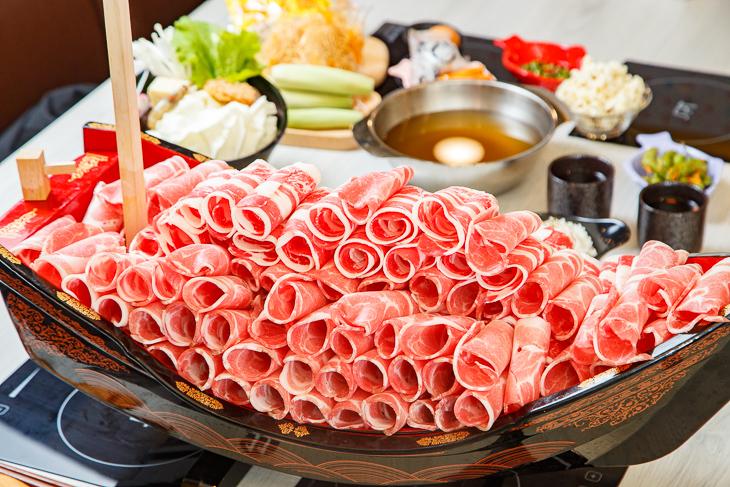 林口火鍋 推薦:蔬鍋藝鍋物的牛五花套餐