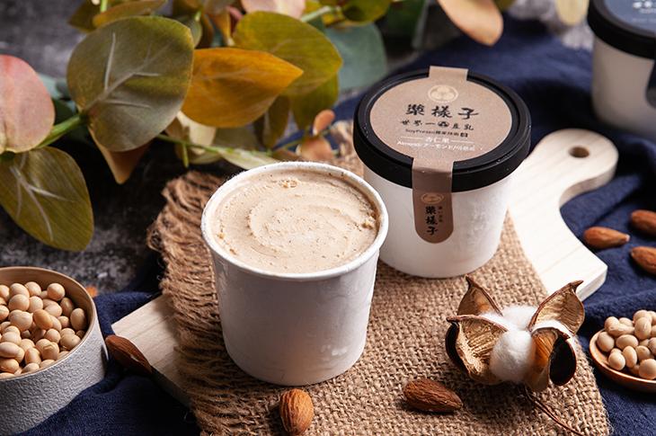 內湖美食飲料店推薦,漿樣子濃い豆乳杏仁果豆乳冰淇淋