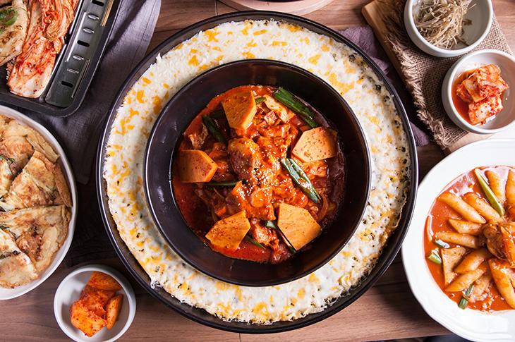 台北韓式料理推薦,水剌韓式餐廳春川辣炒雞