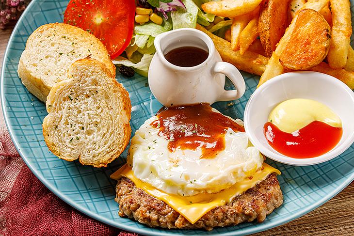 內湖美食 早午餐咖啡廳推薦,此刻 Cafe&Brunch紐西蘭厚切牛肉餐