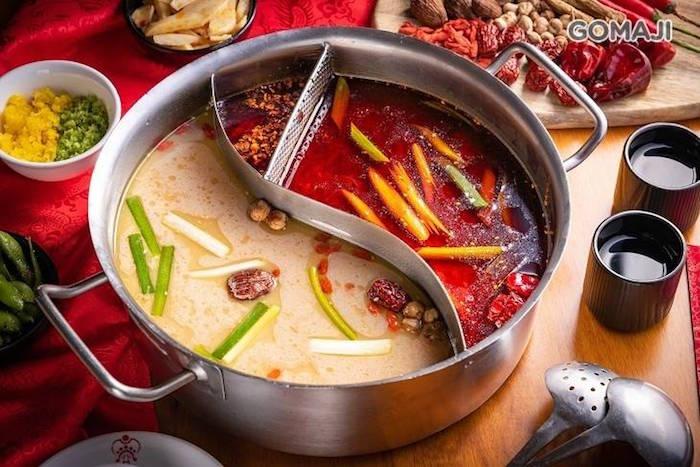 老四川 巴蜀麻辣燙 鴛鴦鍋