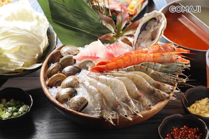 藍象廷泰式火鍋 海鮮拼盤