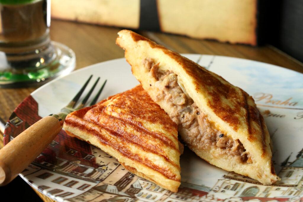 三峽早餐推薦,慢思 Amour.Sacrifice的法式鮪魚熱壓吐司
