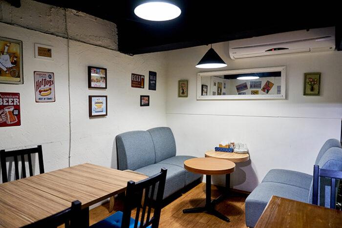 台北美式餐廳 推薦:Bea's Bistro美式餐館店內裝潢