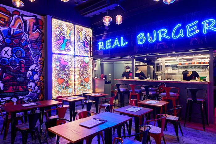台北美式餐廳 推薦:BeefBirds的用餐空間