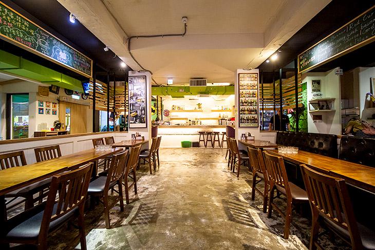 台北美式餐廳 推薦:Bravo Burger發福廚房店內裝潢