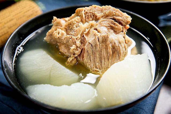 排骨湯 推薦:誠記原汁排骨湯的蘿蔔排骨湯